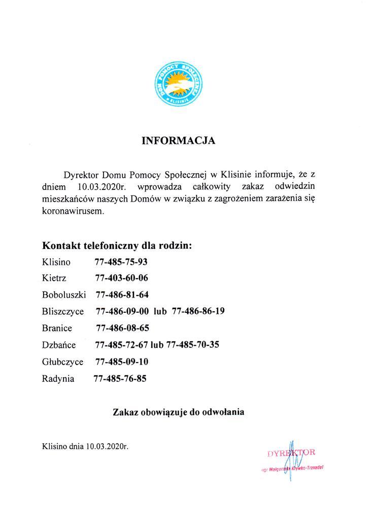INFORMACJA KORONAWIRUS 2020r..jpeg